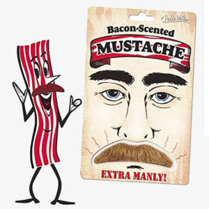 Bacon Scented Mustache E-junkie marketplace fun weird crazy Ebay items and gift ideas Ebay web shop